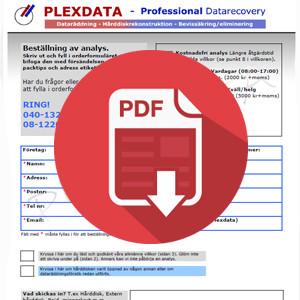 Beställ dataräddning privatperson