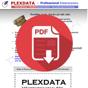 Plexdata packsedel icon