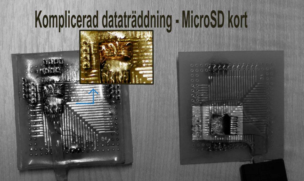 Trasigt eller dött microsd? Rädda bilder MicroSD? Plexdata fixar det!
